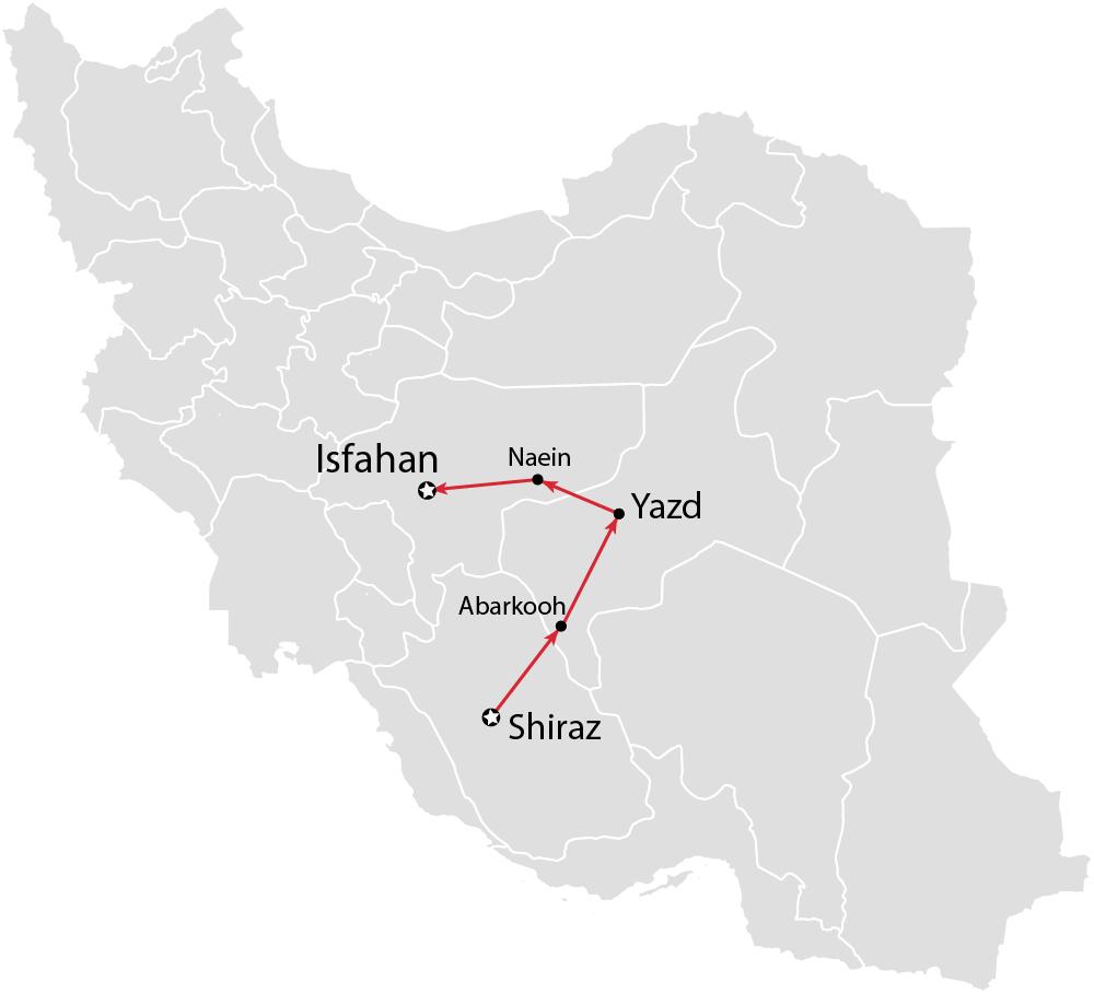 Iran tours classic tour